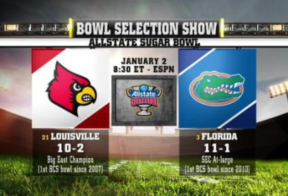 2013 Sugar Bowl: Florida Gators vs Louisville Cardinals