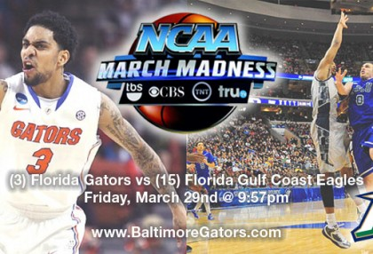 Baltimore Gators Viewing Party for the Sweet Sixteen