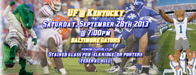 Gators Hit the Road to face Kentucky; Charm City Gators to Welcome UFAA to Baltimore